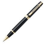 Sheaffer 9325 Collection 300 Glossy Black Gold Trim Rollerball Pen - KSGILLS.com | Online Penshop Malaysia