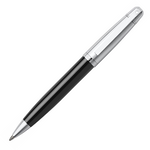 Sheaffer 9331 Collection 500 Glossy Black Chrome Cap Chrome Trim Ballpoint Pen - KSGILLS.com | Online Penshop Malaysia