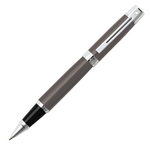 Sheaffer 9329 Collection 300 Glossy Grey Chrome Trim Rollerball Pen - KSGILLS.com | Online Penshop Malaysia