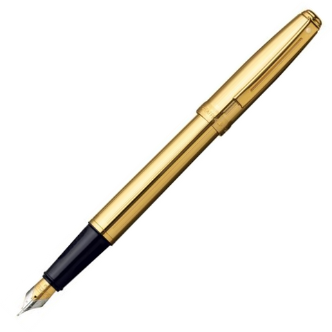 Sheaffer 368 Prelude Gold GT Fountain Pen