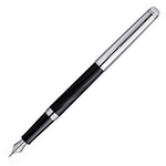 Waterman Hemisphere Deluxe Silky Black Fountain Pen