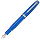 Sailor Pro Gear Slim Blue Dwarf Rhodium Trim Fountain Pen