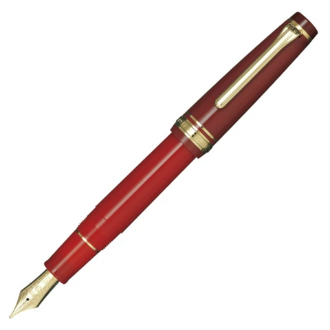 Sailor Pro Gear Kanreki Red Gold Trim Fountain Pen (Limited Edition)