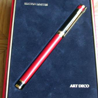 S.T. Dupont Art Déco - 1996 Limited Edition Rollerball Pen