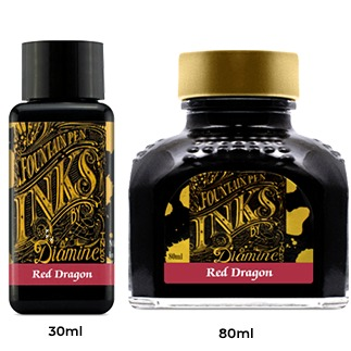 Diamine Ink Bottle (30ml / 80ml) - Red Dragon