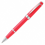 Cross Bailey Light Rollerball Pen - Glossy Polished Coral Resin Chrome Trim