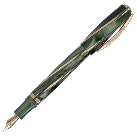 Visconti Divina Elegance Green Oversized Fountain Pen