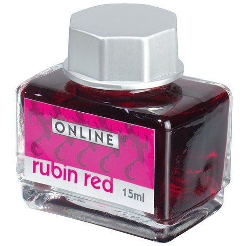 Online Fountain Pen Ink 15ML - Rubin Red