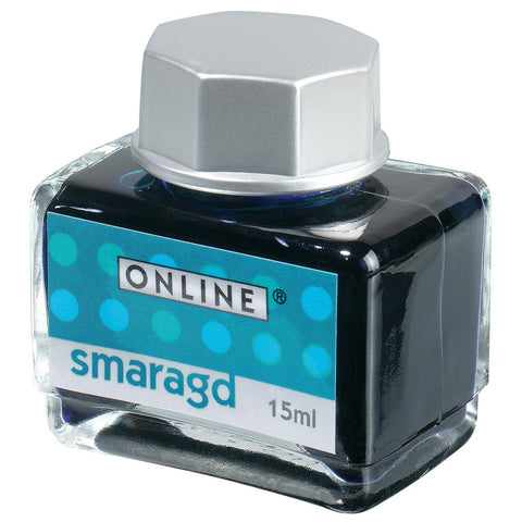 Online Fountain Pen Ink 15ML - Smaragd