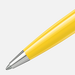 Montblanc Pix Ballpoint Pen - Mustard Yellow Chrome Trim