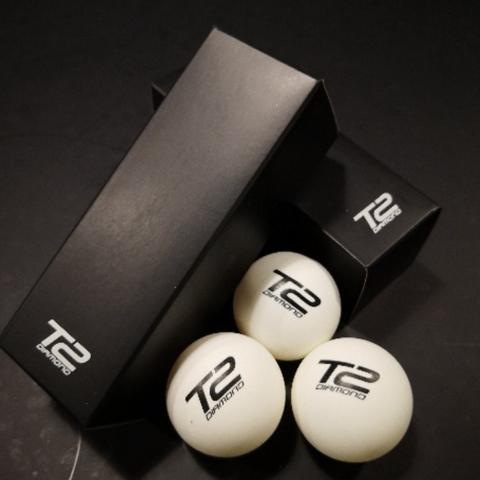 T2 Diamond Table Tennis Balls