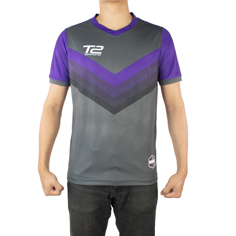 *PRE ORDER* T2 Diamond  Men's Purple Arrow Jersey