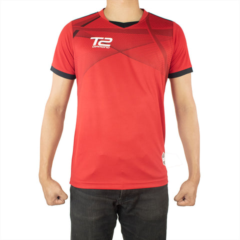 T2 Diamond  Men's Red Jersey