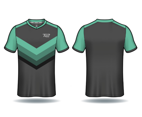 *PRE ORDER* T2 Diamond  Men's Mint Green Arrow Jersey