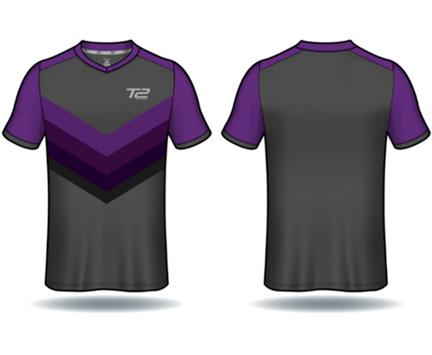 T2 Diamond  Men's Purple Arrow Jersey