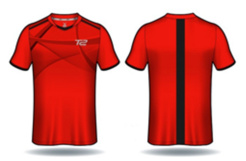 *PRE ORDER* T2 Diamond  Men's Red Jersey