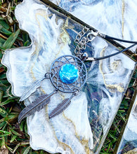 Dream catcher pendant and necklace