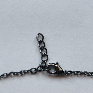Heart Bracelet Black Rhodium