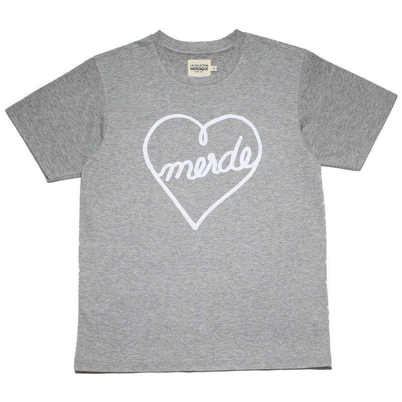 Heart Grey Men's T-shirt