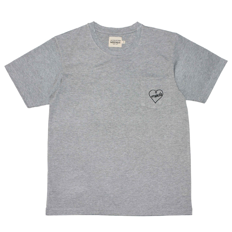 Pocket Grey Men's T-shirt