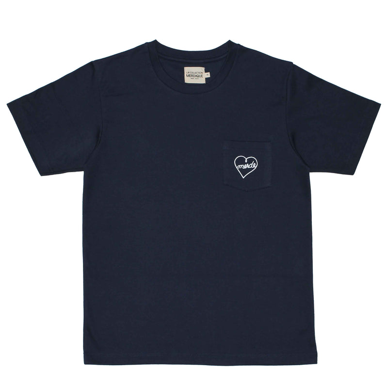 Pocket Navy Men's T-shirt