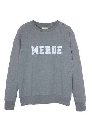 College Grey Sweatshirt Unisex