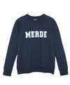 College Navy Sweatshirt