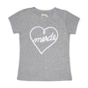 Heart Grey Women's T-shirt