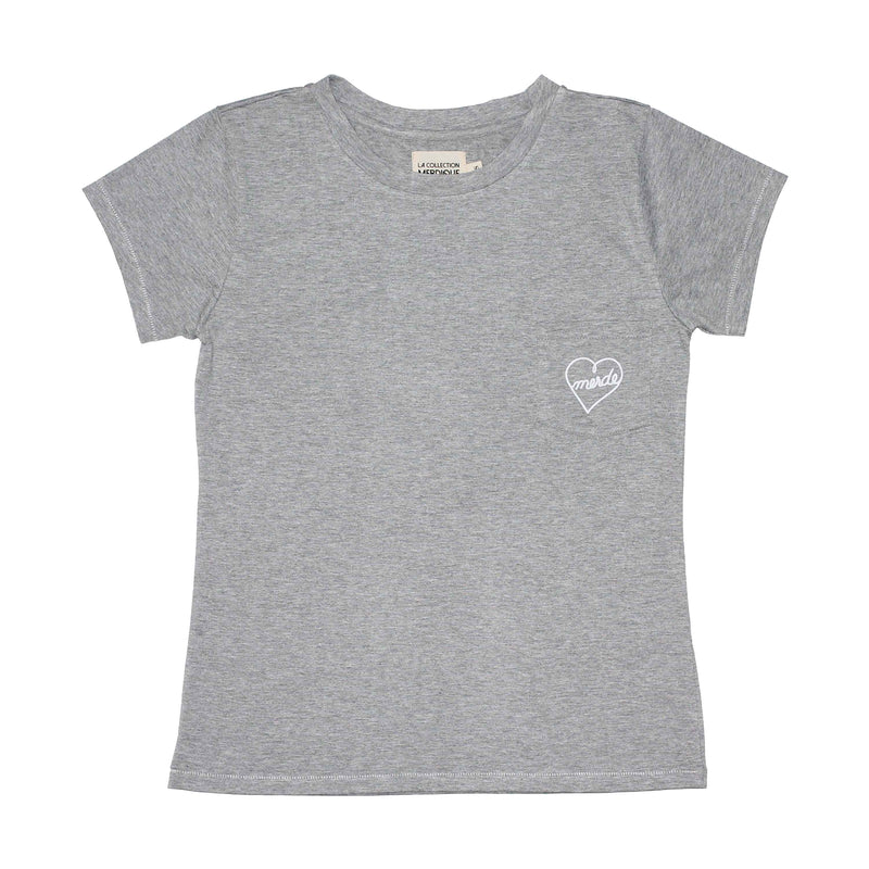 Pocket Grey Women's T-shirt