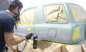 How to spray Raptor Liner