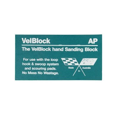 Velcro Rubbing Block
