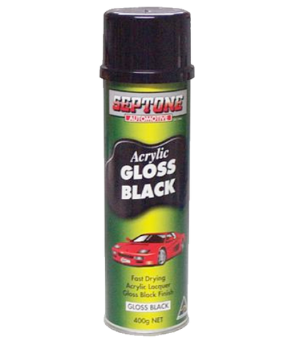 SEPTONE Acrylic Gloss Black