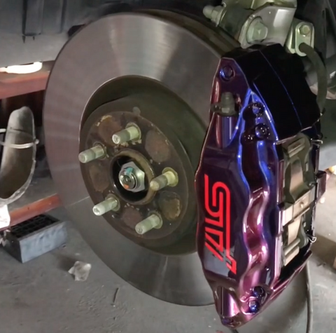 Colour Shift Brake Caliper Paint