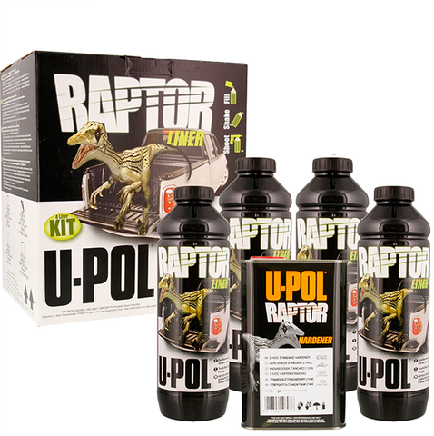 UPOL RAPTOR: Tough Protective Coating Kit BLACK