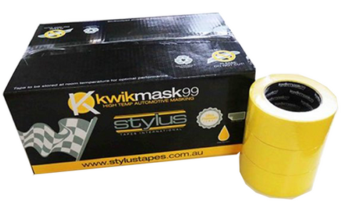 Kwik Mask Masking Tape Yellow