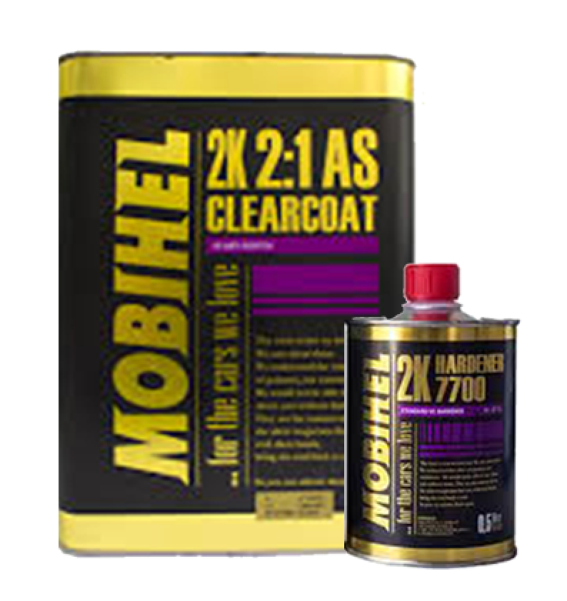 2k Clear HS Mobihel Anti Scratch 7.5L kit