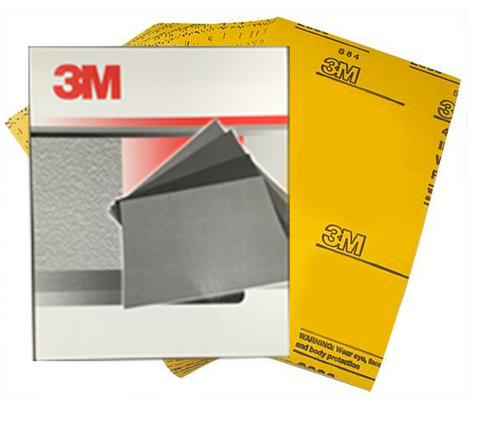 3M Wet & Dry Sandpaper Pack 50