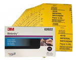3M Fine Wet & Dry Sanding Sheets Pack 50