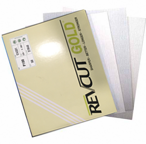 Revcut Dry Sandpaper Packet of 50