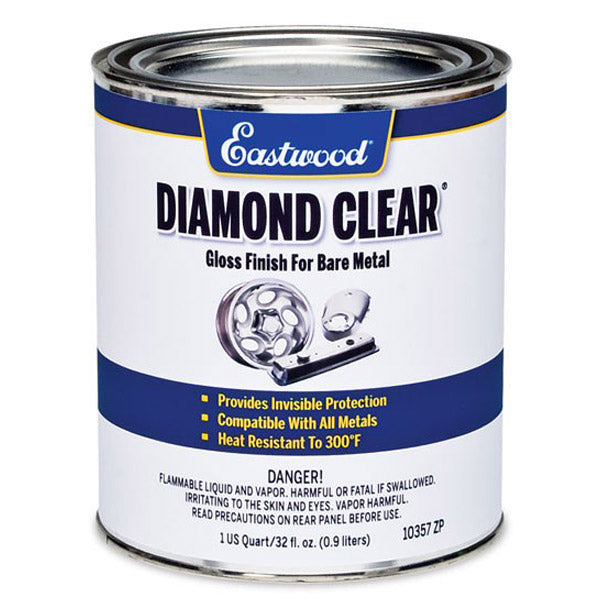 Eastwood Diamond Clear Gloss Finish for Bare Metal 975ml