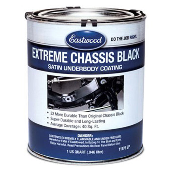 Eastwood Extreme Chassis Black Gloss Finish - 946ml