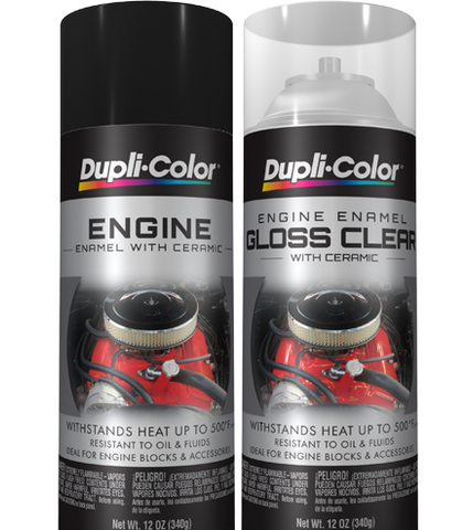 Engine Enamel Spray Can With Ceramic