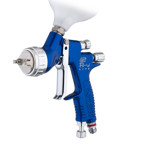 Devilbiss GTI PRO LITE Gravity Feed Spray gun 1.3mm + 1.4mm
