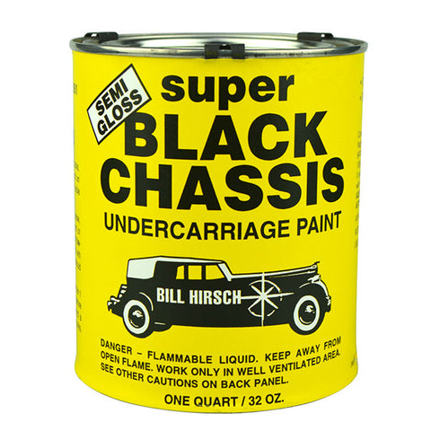 Semi-Gloss Black Chassis Undercarriage Paint 1L