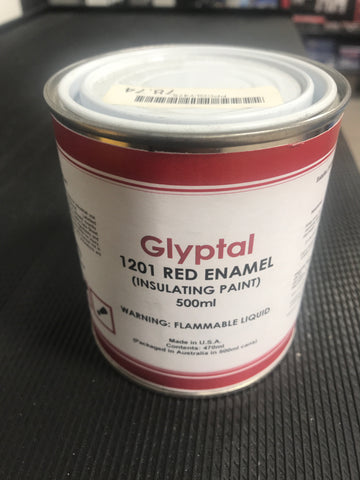 Glyptal 1201 Red Enamel