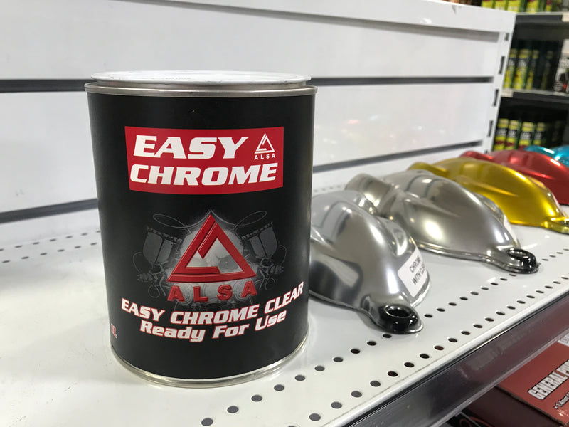Alsa Chrome Paint Clear Coat Kit