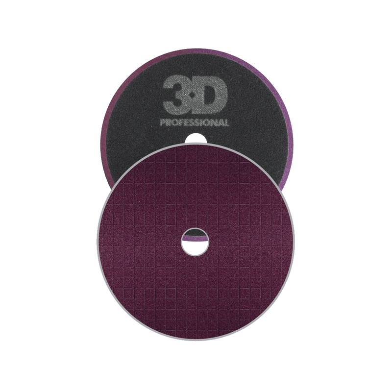 3D Dark Purple Heavy Cut Spider Pad 6.5""