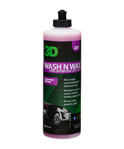 3D Wash N Wax 475Ml