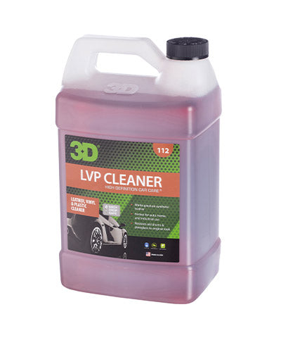 3D LVP Leather, Vinyl & Plastic Cleaner 3.78Lt