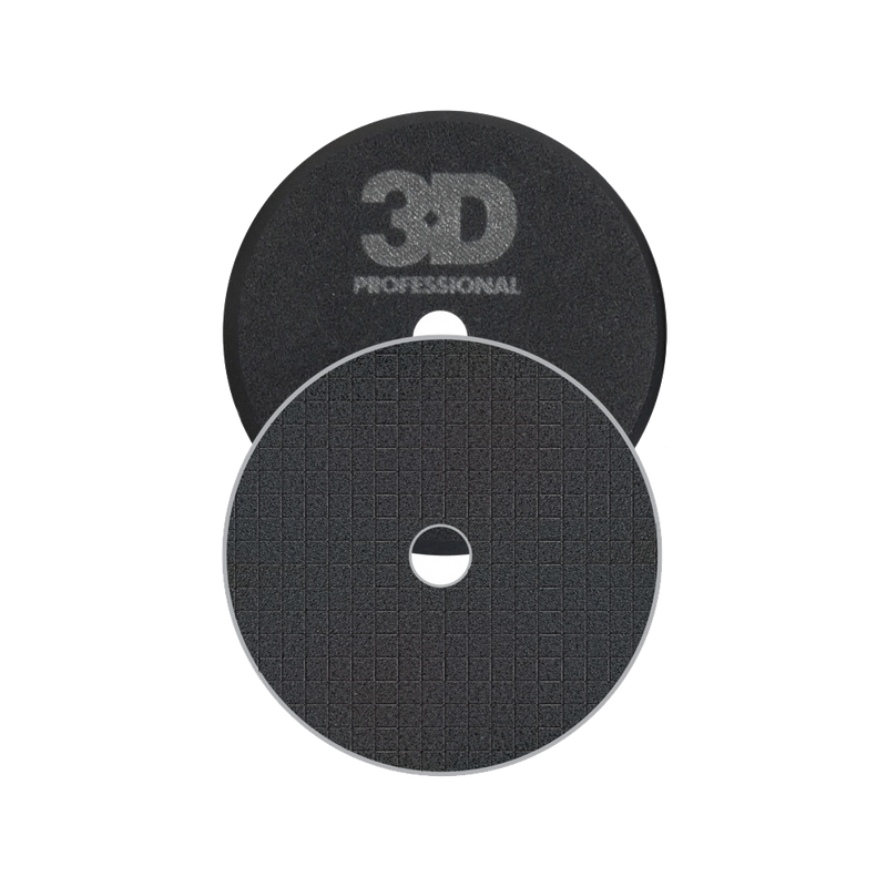 3D Black Polishing Spider Pad 6.5""
